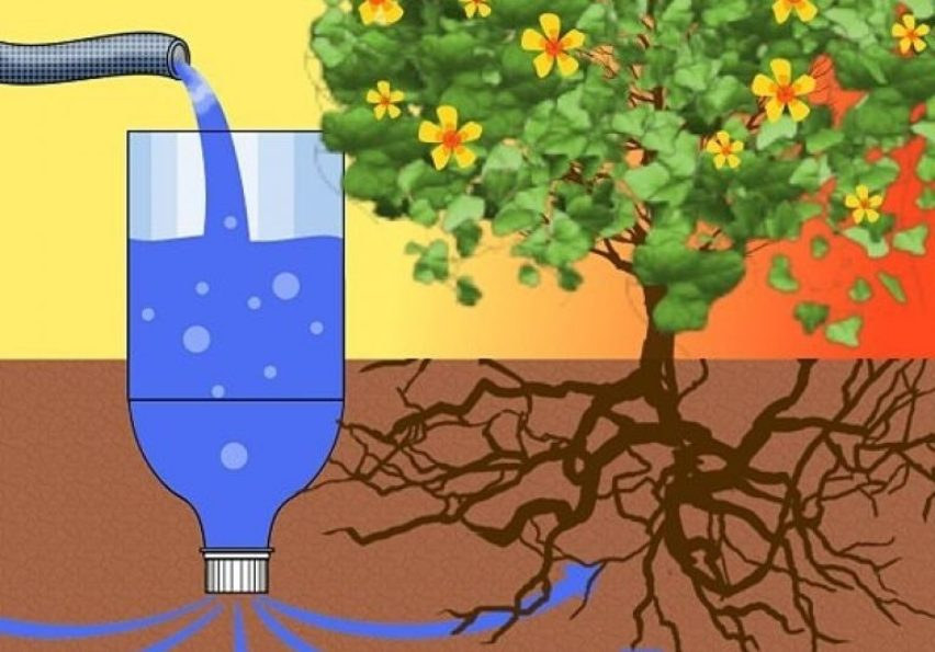 Методы подземного полива