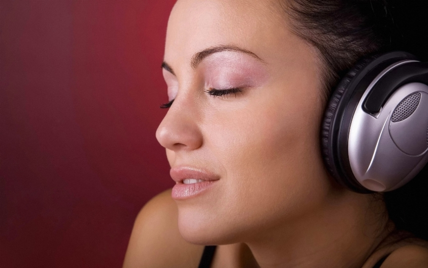 Музыка в наушниках