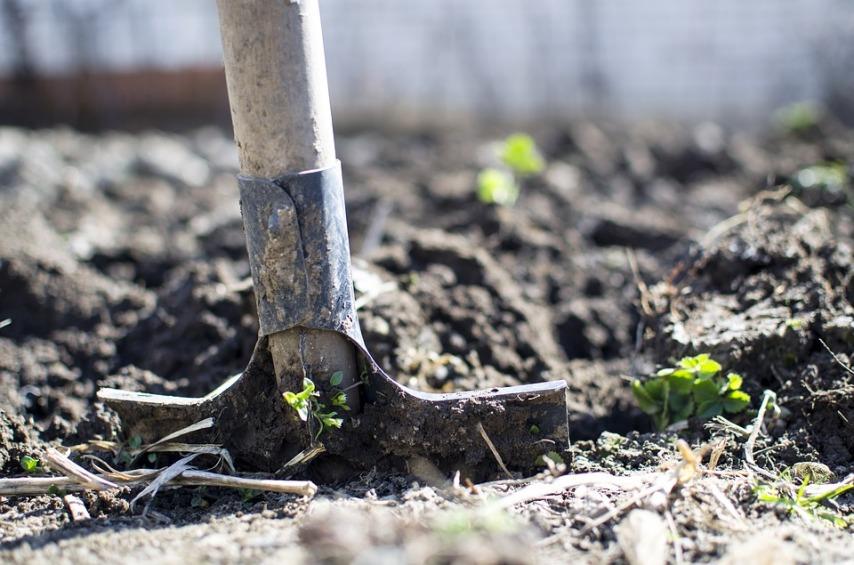 Перекапывание огорода