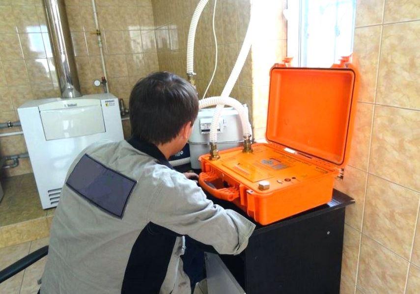Поверка газового счетчика