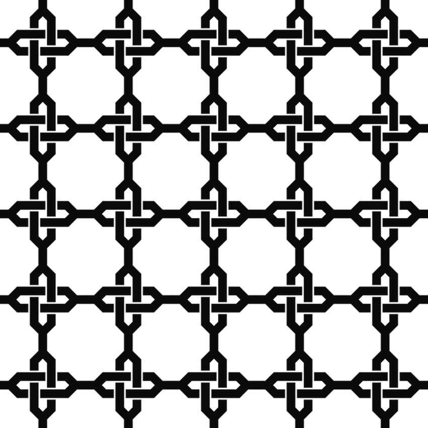 Узорчатая решетка как шпалера для лазающих растений