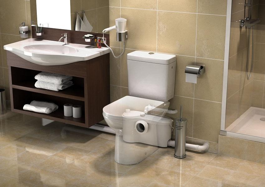 Как установить санитарный насос и зачем он нужен