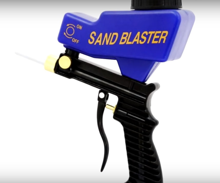 Инструменты: Пескоструйный пистолет