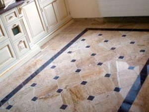 Укладка плитки методом «по диагонали»