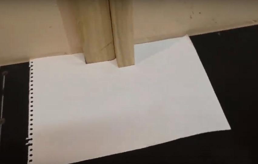 Врезание в линолеум