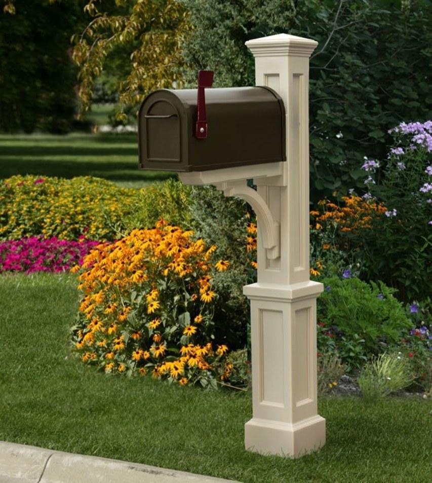 Столбики для ящика для писем