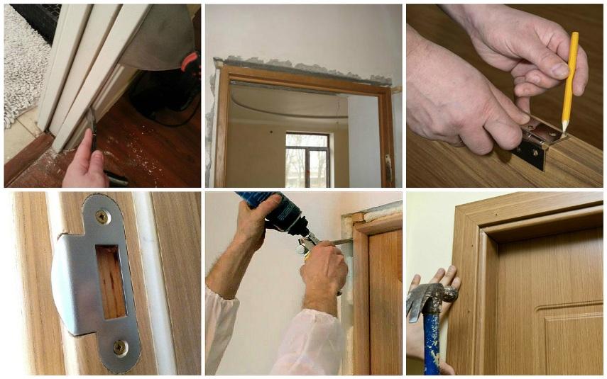 Восстановление двери