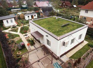 Дом с плоской крышей в России: все плюсы и минусы