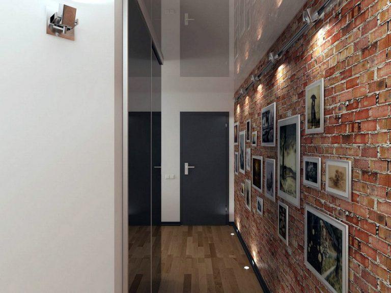 Идеи и решения увеличения пространства в узком коридоре