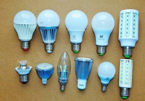 Форма ламп
