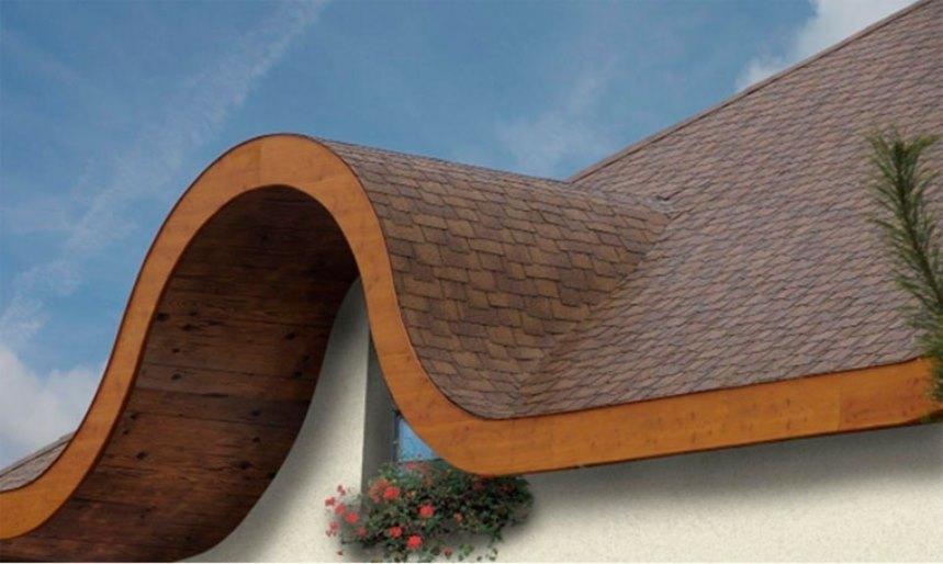 Крыша сложной формы