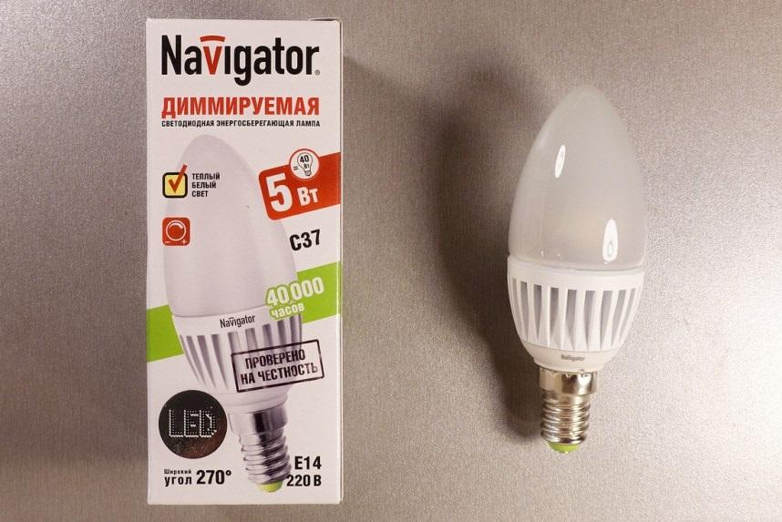 Диммируемая светодиодная лампа