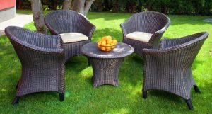 7 преимуществ садовой мебели из искусственного ротанга