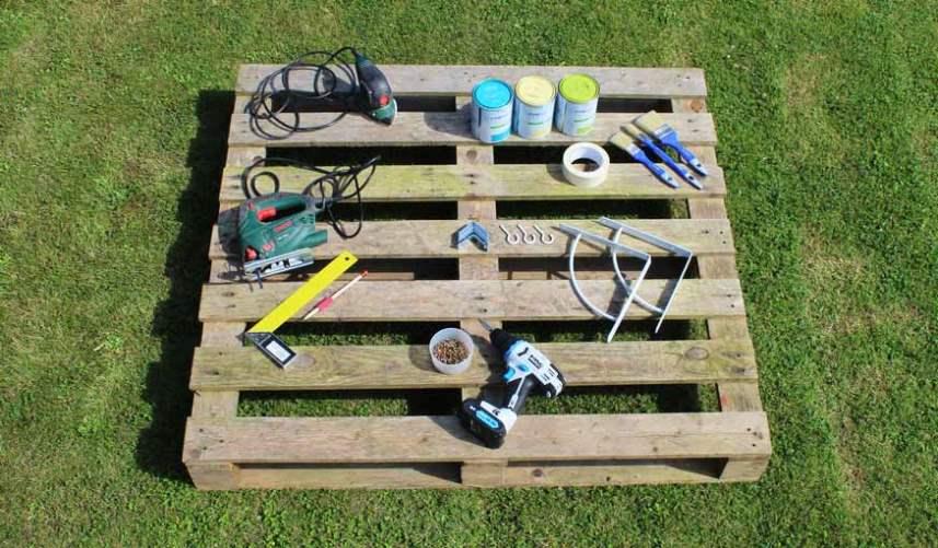 Инструменты и материалы для стойки