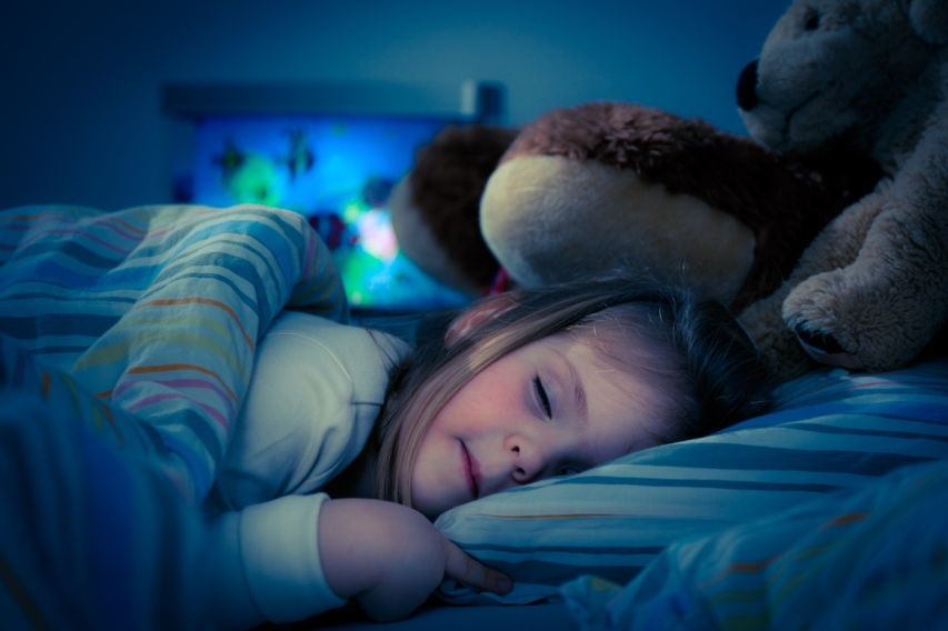Засыпающий ребенок