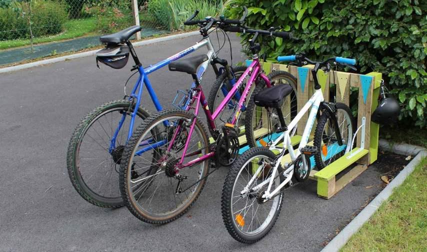 Самодельная парковка для велосипедов