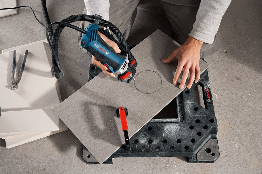 Ротационный фрезер и плитка