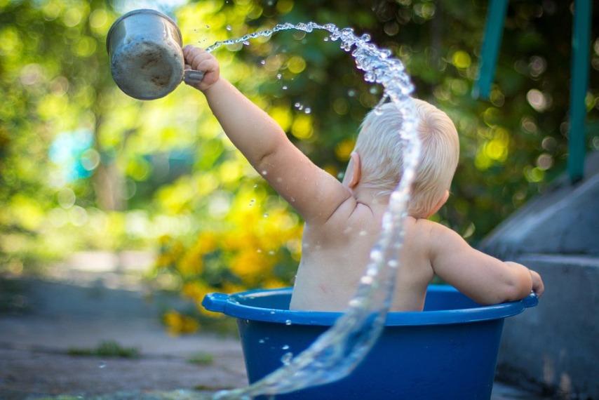 Греем воду летом