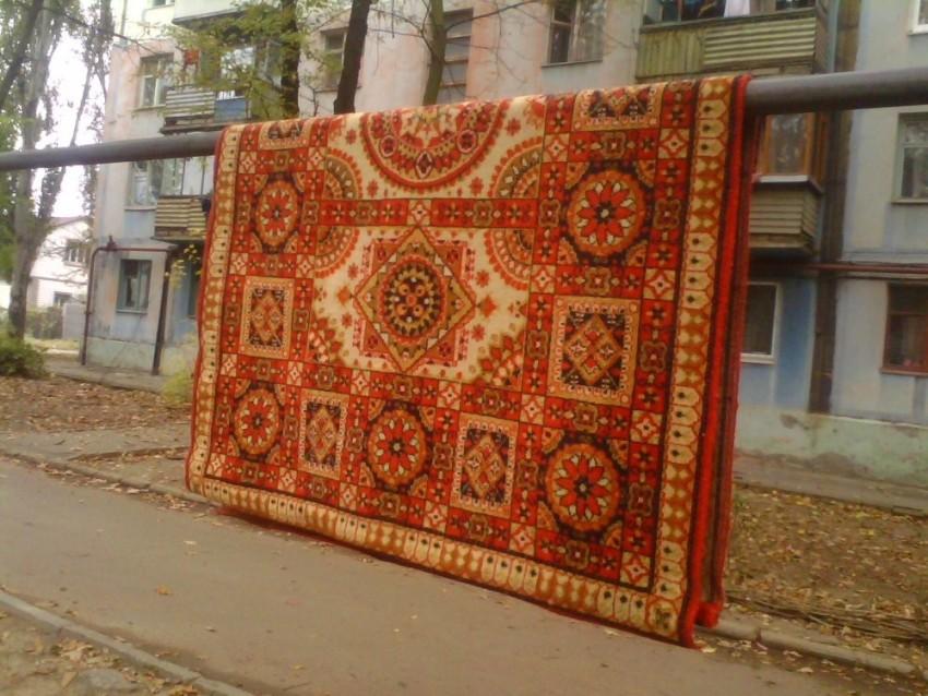 Выбиваем ковры