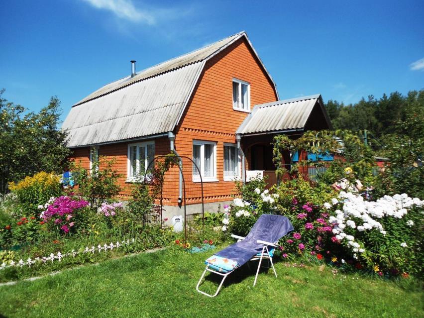 Дом на садовом участке