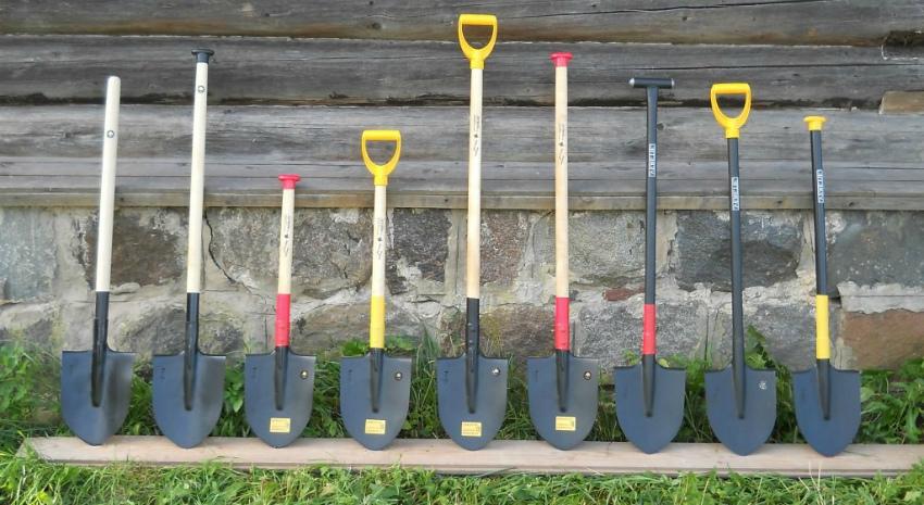 лопаты инструменты