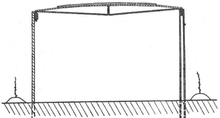 шатровая шпалера