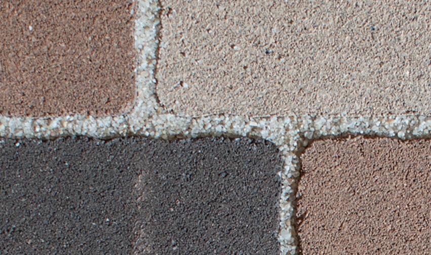 Тротуарная плитка: Заполнение швов