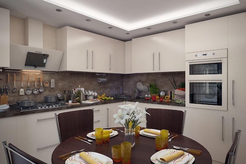 Как правильно зонировать кухню