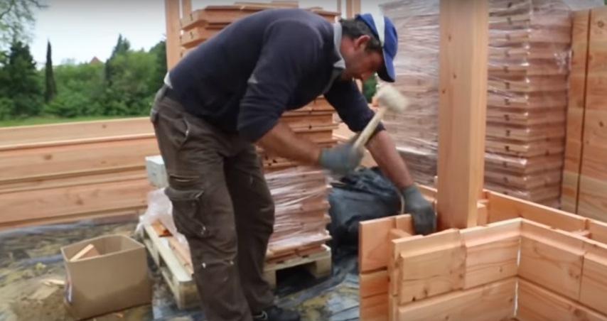 Деревянный кирпич: инструменты