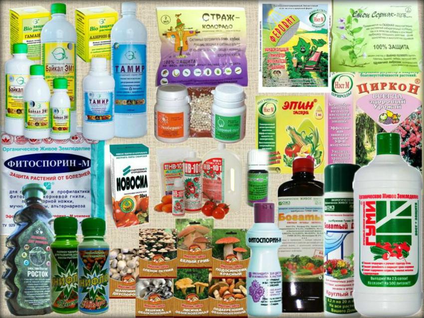 Препараты для обработки растений