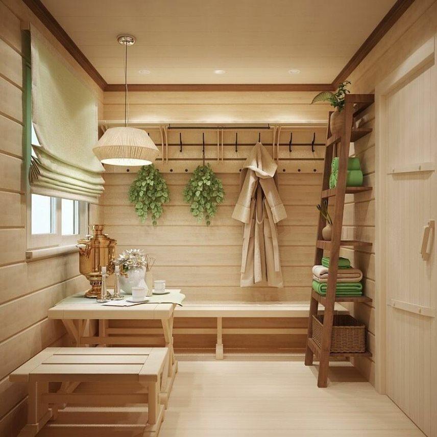 Размеры бани и планировка