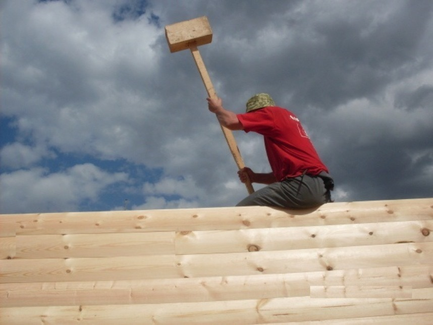 Усадка дома: как уменьшить