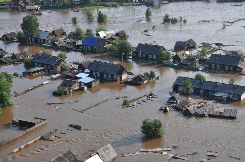 Наводнение Дождь