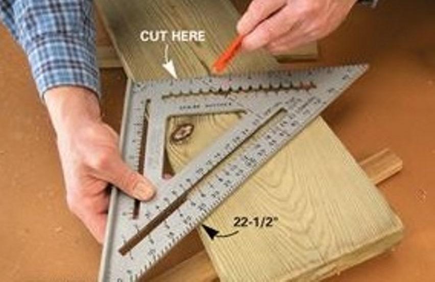 сделать деревянную скамью