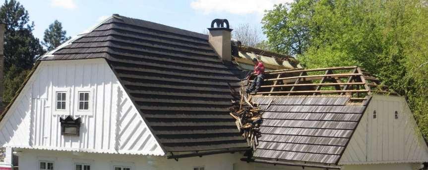 Ремонт крыши Дождь