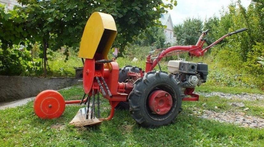 Картофелекопалка КМ-2