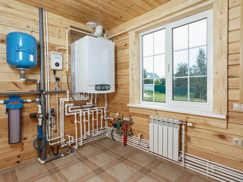 Газовая система отопления в частном доме