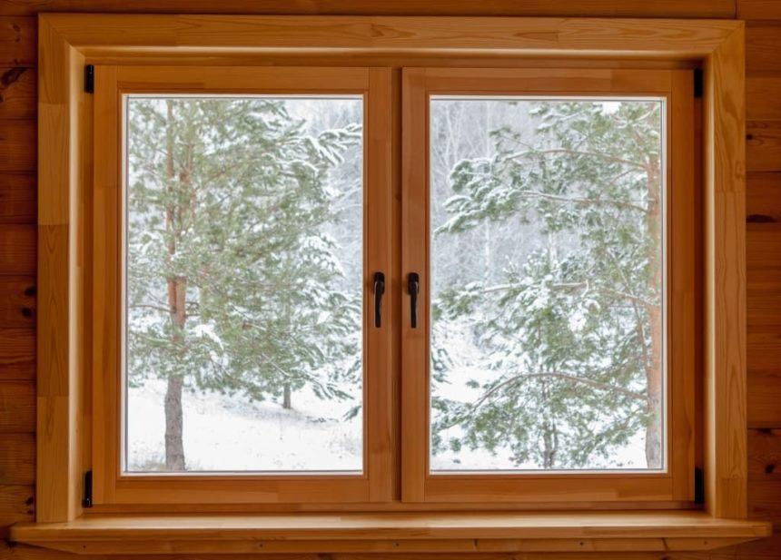 Конденсат на окнах отсутствует - Деревянные рамы
