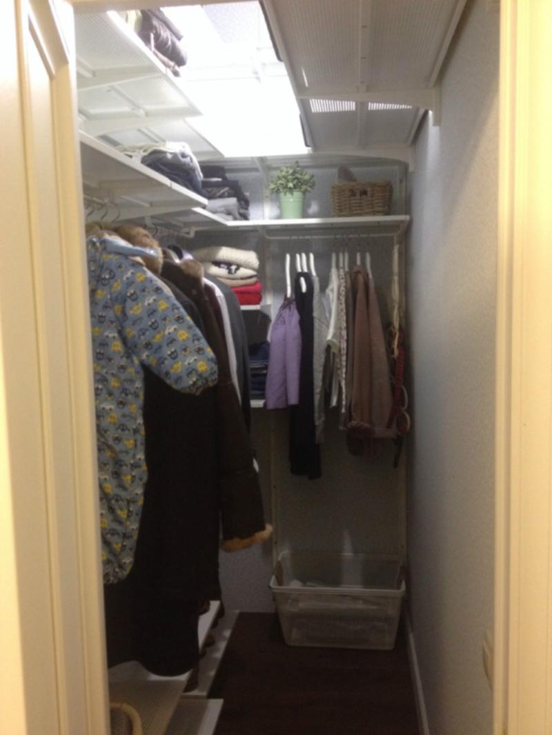 Крошечная гардеробная