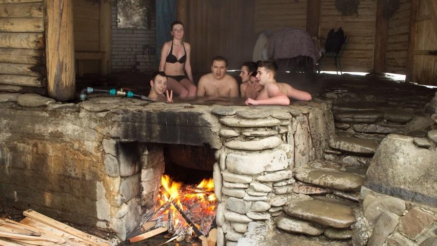 Банный чан - Закарпатская баня