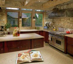 Современные варианты отделки стен на кухне: как эффектно оформить кухню