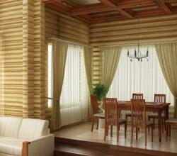 Потолки в деревянном доме: лучшие способы и варианты отделки