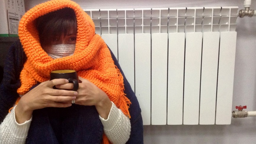 Коммуналка - холод в квартире