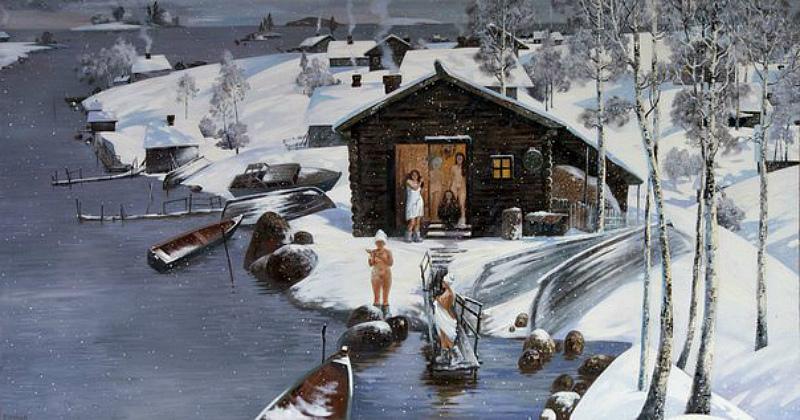 Зимняя баня
