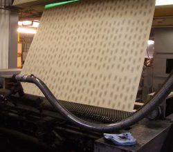 Наждачная бумага: этапы изготовления (часть 1)