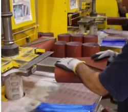 Как изготавливается шлифовальная лента (часть вторая)