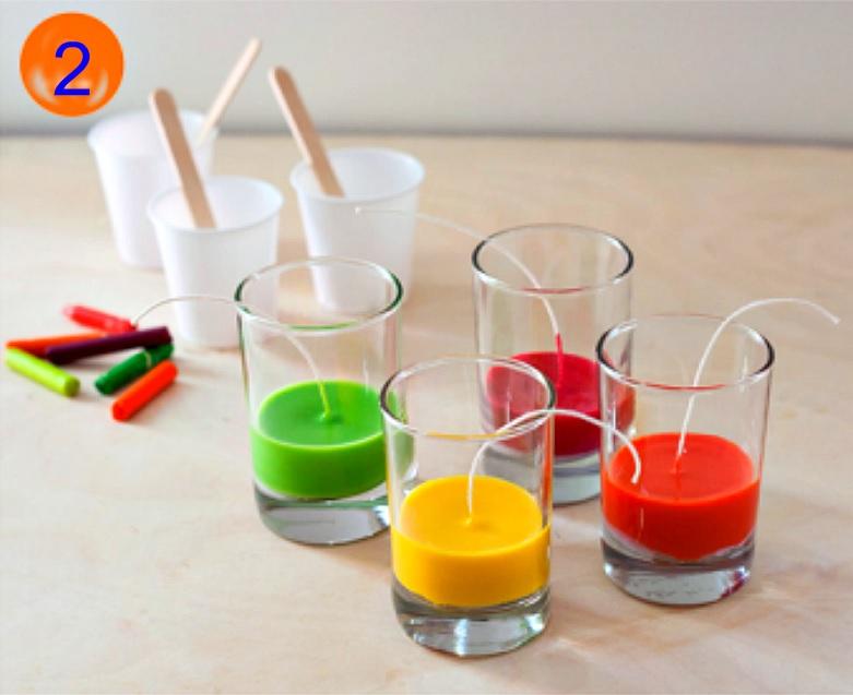 Декоративные свечи: Изготовление