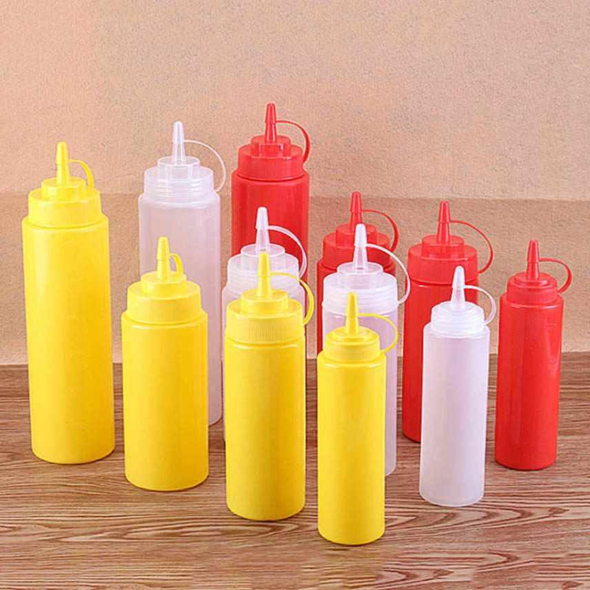 Полировка - бутылки для соуса