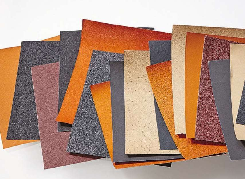 Шлифовка - Разновидности наждачной бумаги