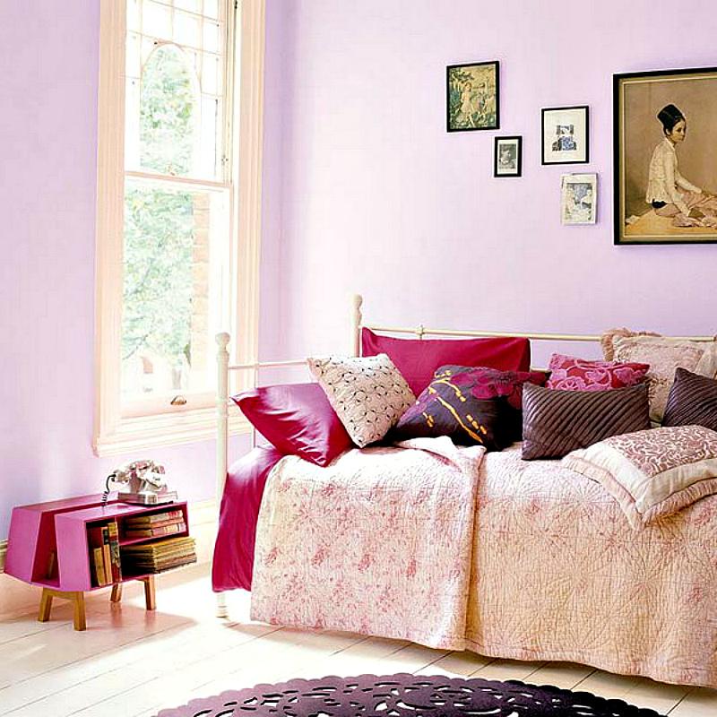 Светло-розовый цвет в интерьере